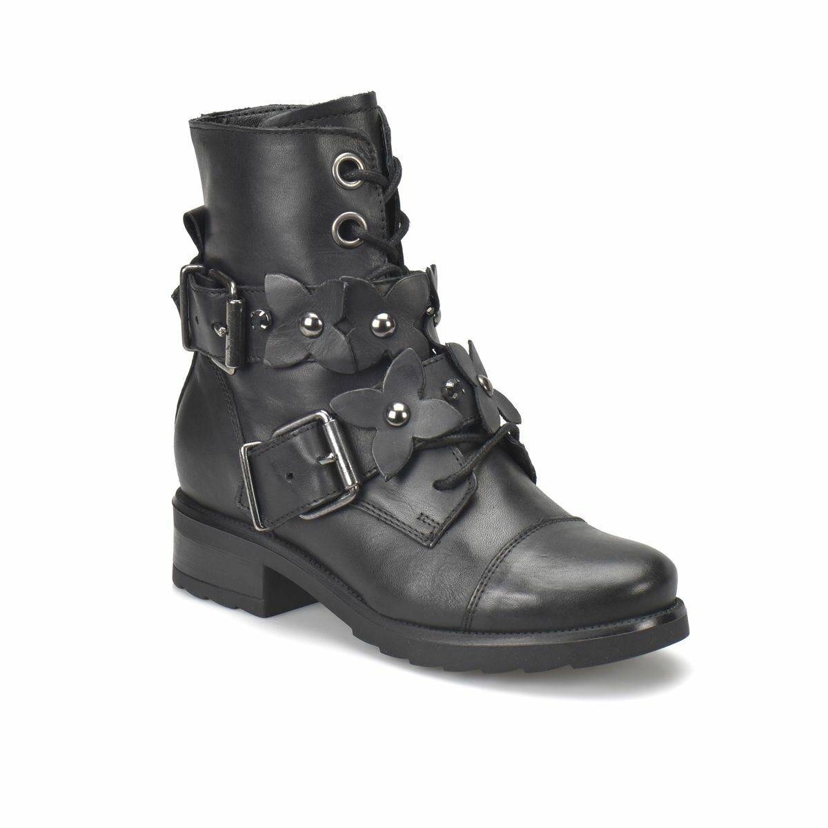 FLO R14998-BR733FLO Black Women Shoes BUTIGO