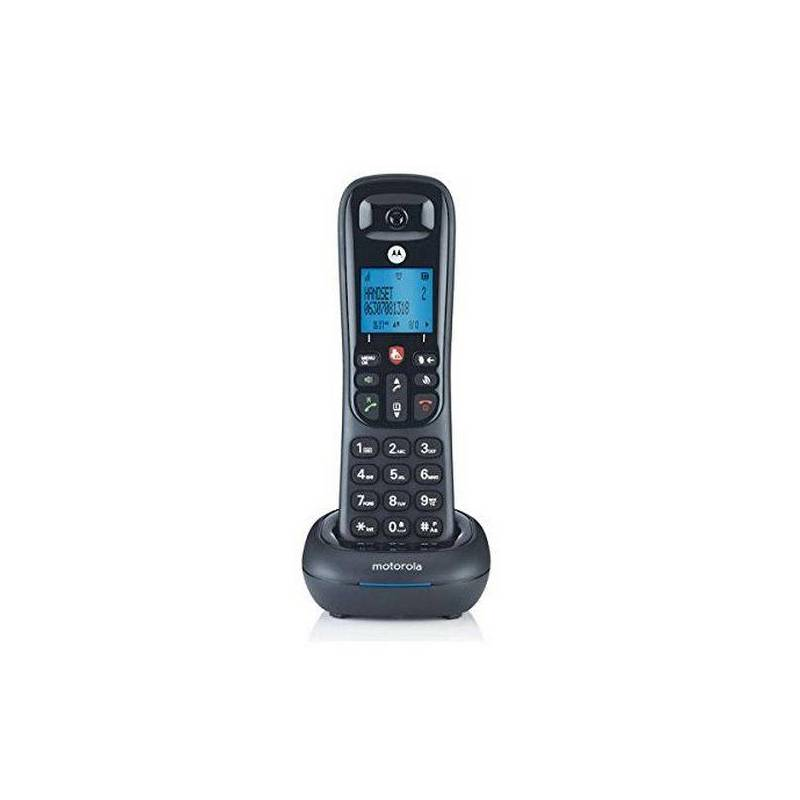 Phone Motorola Wireless CD4001 DECT Black image