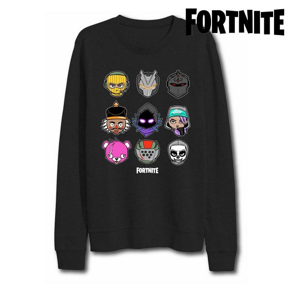Children's Sweatshirt without Hood Fortnite 75069 Black|  - title=