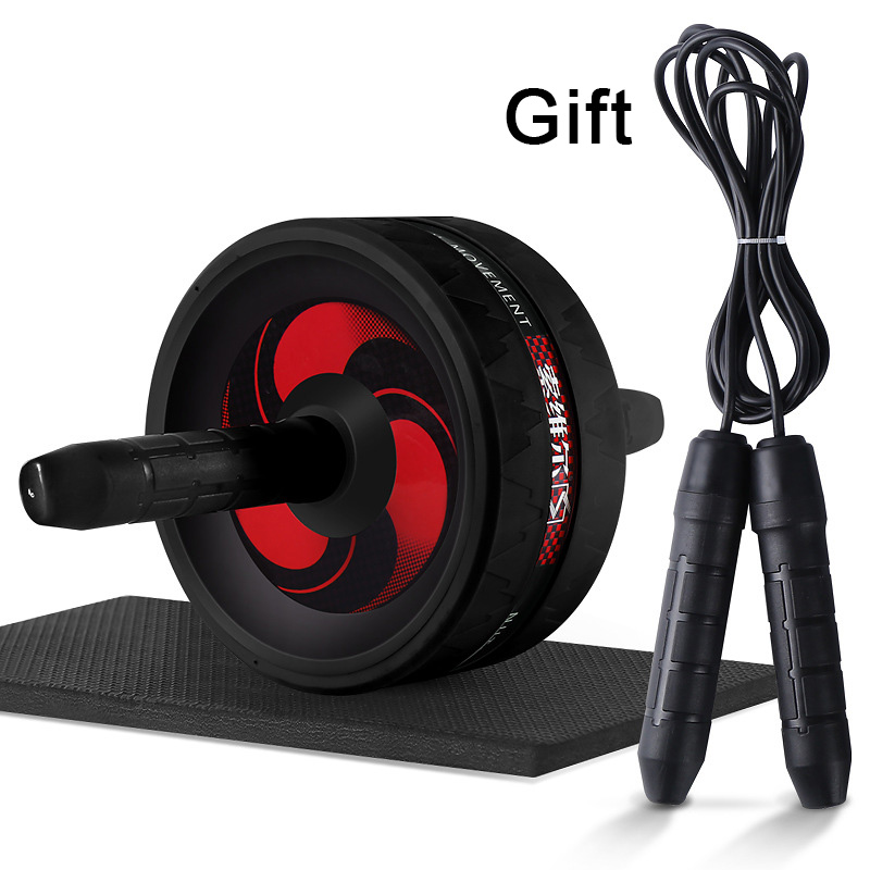 No Noise Ab Roller Abdominal Wheel Comprehensive System Fitness Men Women Exercise Sport Gym And Home Training Equipment