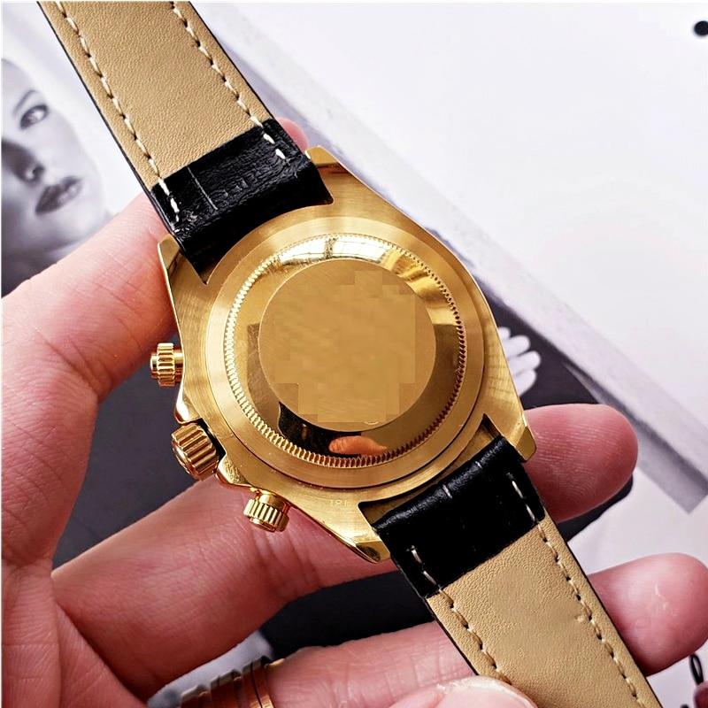 Swiss Automatic Movement High Quality Wathc AAA Sapphire Glass 40mm Rolexable Stainless Steel Calendar Waterproof Luxury Watch