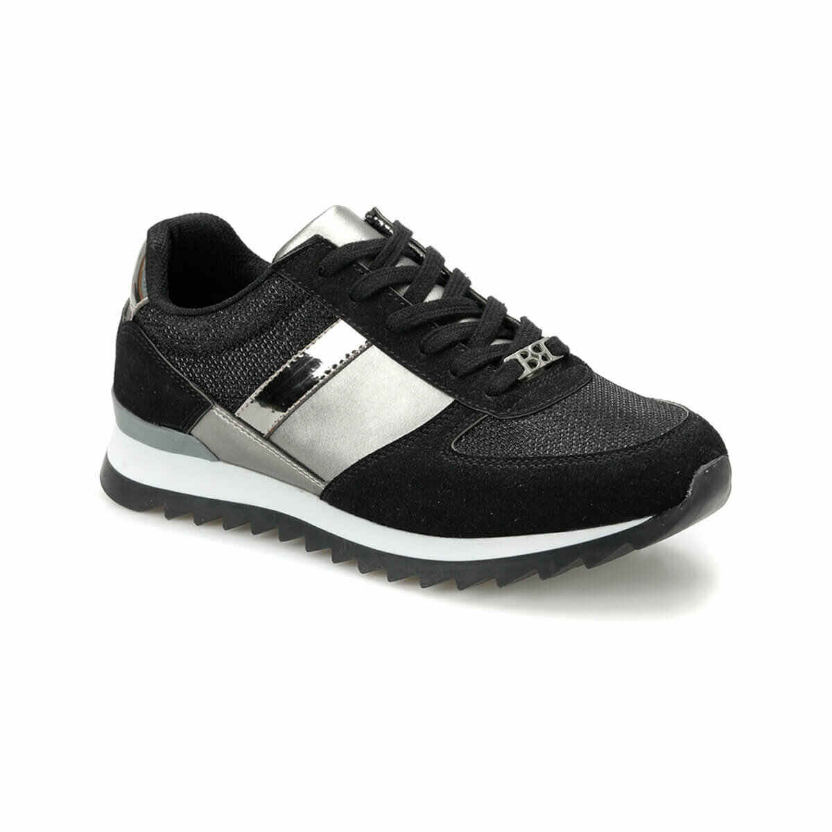 FLO S1960-19IY Black Women 'S Sports Shoes BUTIGO