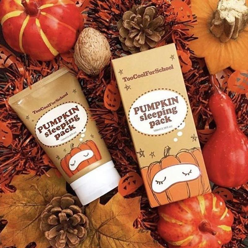 Night Mask With Extract Pumpkin Too Cool For School 30 Ml