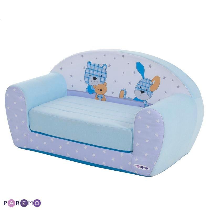 """Children's Sofas PAREMO  Folding Sofa Series \""""Mimi\"""", Tiny Bibi Children's Furniture For Children For Kids Set Ottoman Play Chair Children's Sofa Chair Soft"""