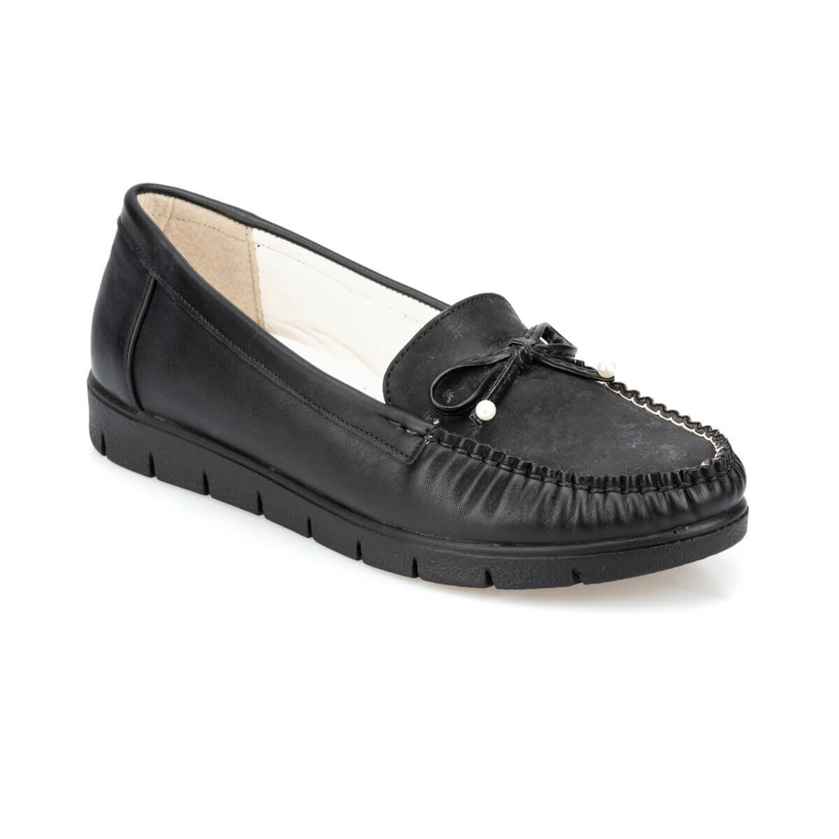 FLO 91.150658GZ Black Women Shoes Polaris