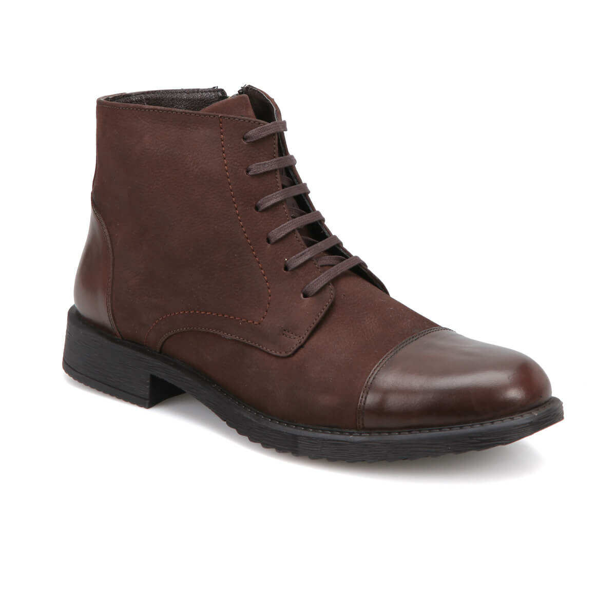 FLO 1759 Brown Men Boots Garamond
