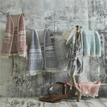 Ecocotton Karla Pestemal Pareo %100 Cotton Made in Turkey Highly water absorbent, lightweight and versatile to use