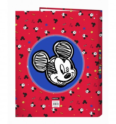 FOLIO WALLET 4 ANIMIXTAS MICKEY MOUSE