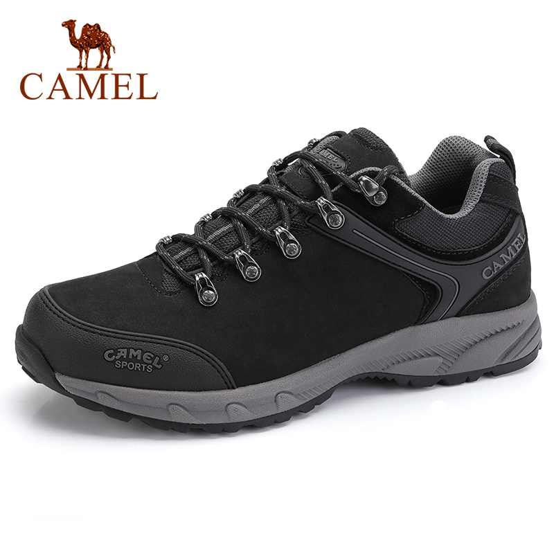 CAMEL Men Shoes Outdoor Tactical Camping Shoes Men's Boots Climbing Breathable Waterproof Non-slip Mountain Boots Hiking Shoes