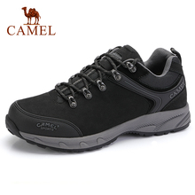 CAMEL Men Shoes Outdoor Tactical Camping Shoes Mens Boots Climbing Breathable Waterproof Non slip Mountain Boots Hiking Shoes