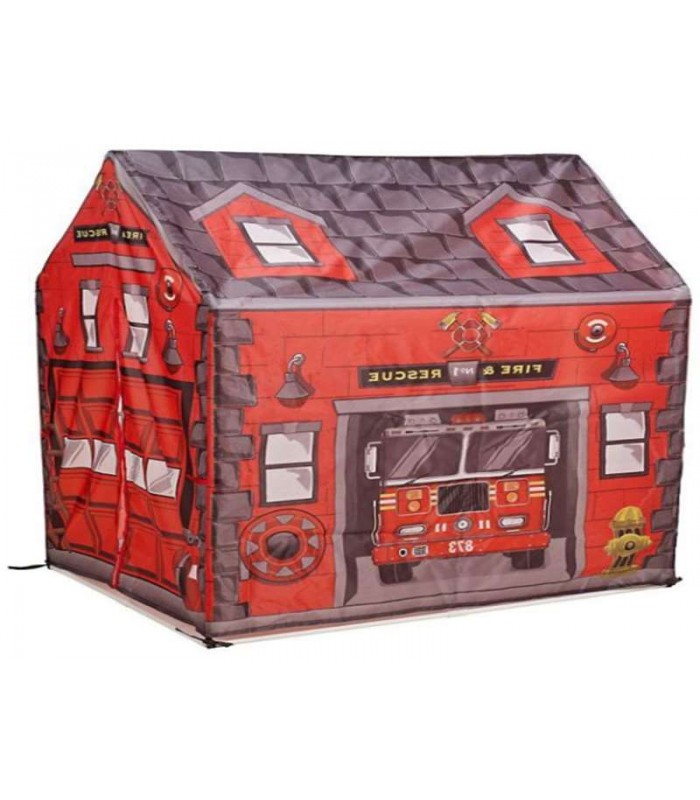 CHILD TENT FIRE STATION
