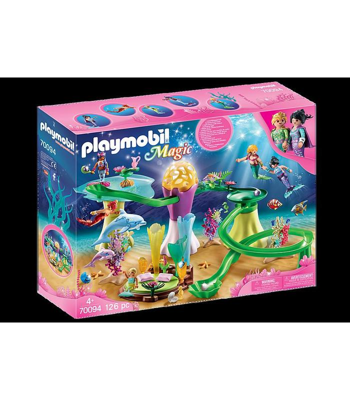 Playmobil 70094 Cala Mermaid With Dome Illuminated Toy Store