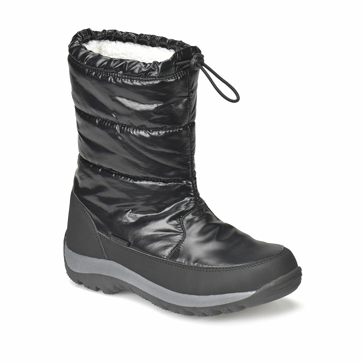 FLO JAIDA Black Women Outdoor Boots LUMBERJACK