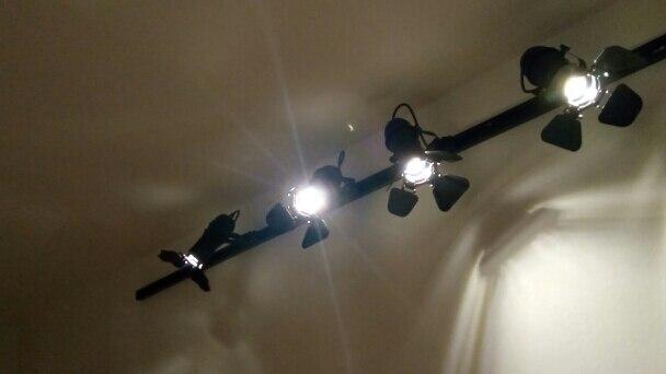 Iluminação do percurso Ferroviário Holofotes Lâmpada