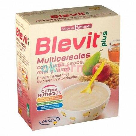 Blevit Plus Nuts Honey AND Fruit 600 GR