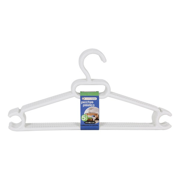 Hangers Ruth White (5 Uds)