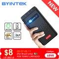 BYINTEK P20 Мини Портативный Смарт Android WIFI ТВ Видео пико LED DLP проектор для Full HD 1080P мобильный смартфон ПК 4K кинотеатр