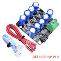 BTT UPS 24V V1.0 módulo de potencia de reanudar la impresión de Sensor de módulo para SKR V1.3 E3 DIP 3D impresora de Ender3 CR10 MINI UPS actualización