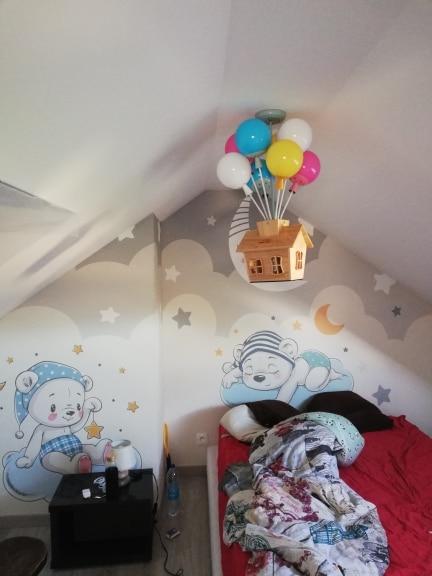 Ceiling Led Light Kids Room photo review