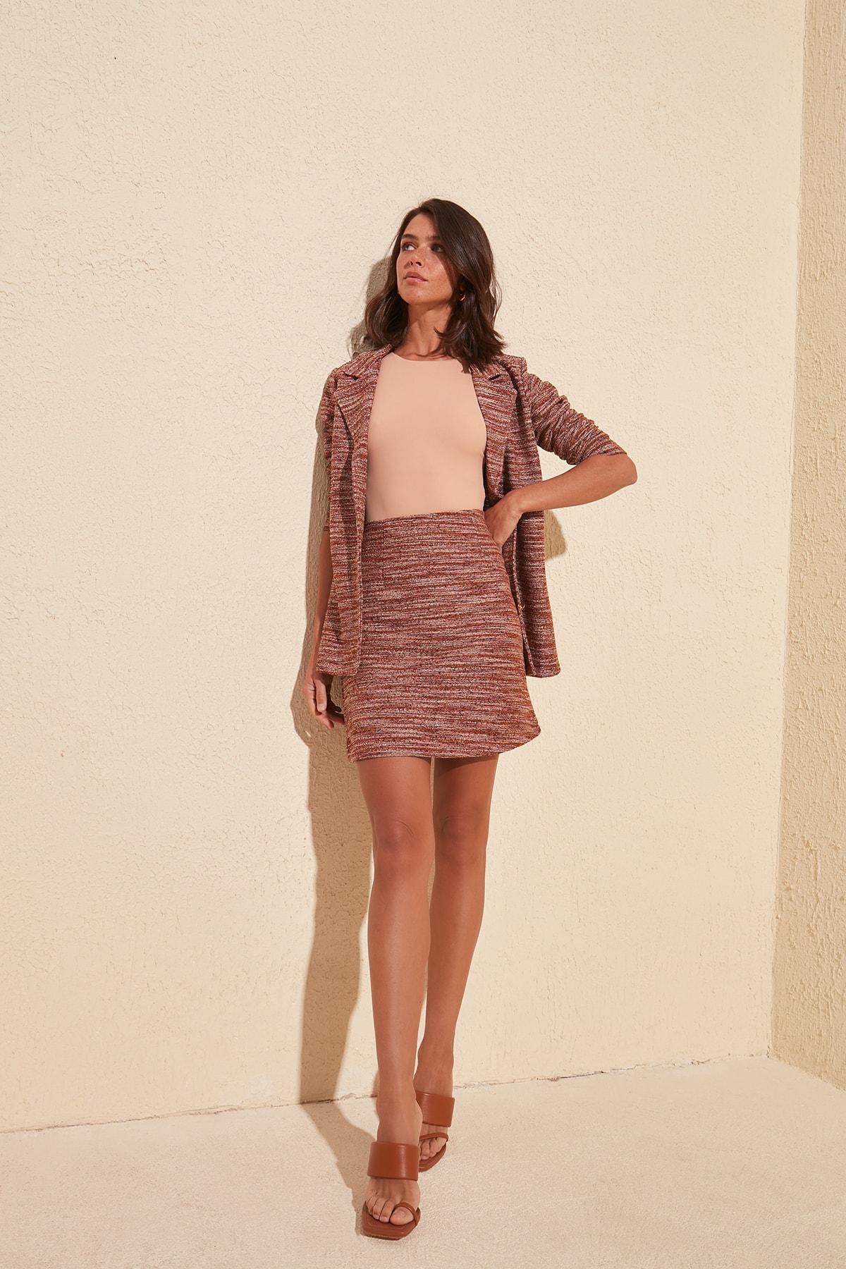 Trendyol Basic Knitted Skirt TWOSS20ET0116