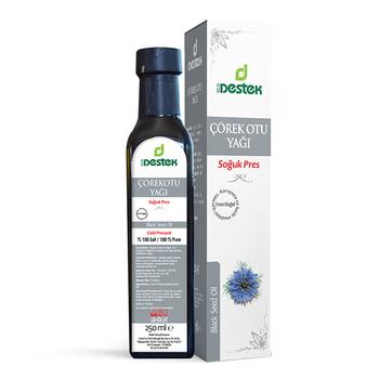 100 czysty organiczny czarny olej z nasion 250 ml tanie i dobre opinie DESTEK