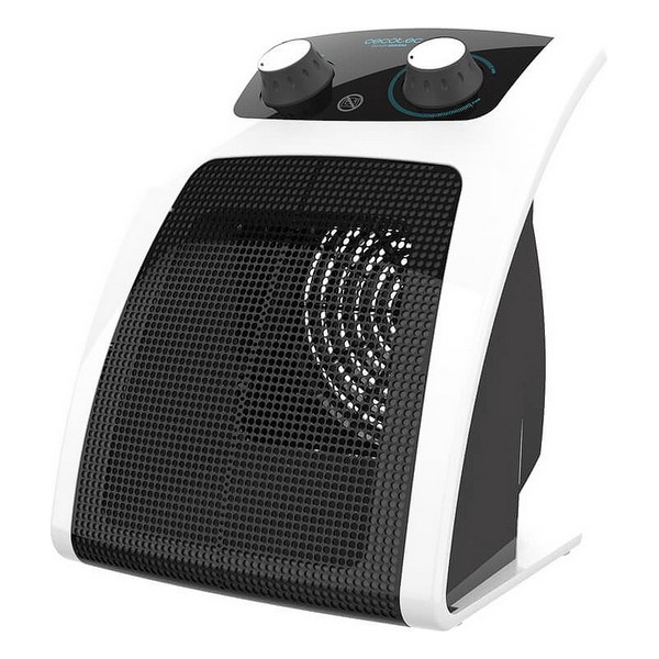 Electric Ceramic Heater Cecotec Ready Warm 6050 Ceramic Pisa 1500W Black White