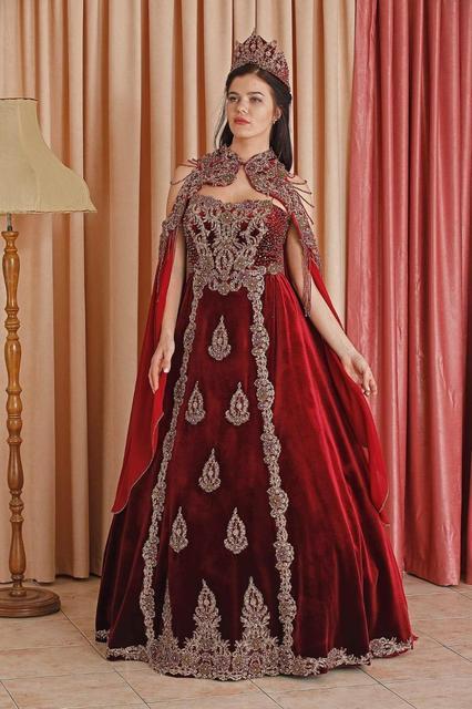 Hurrem robe de mariée, fiançailles, Caftan Style bras, henné, Mariage turc, 2020