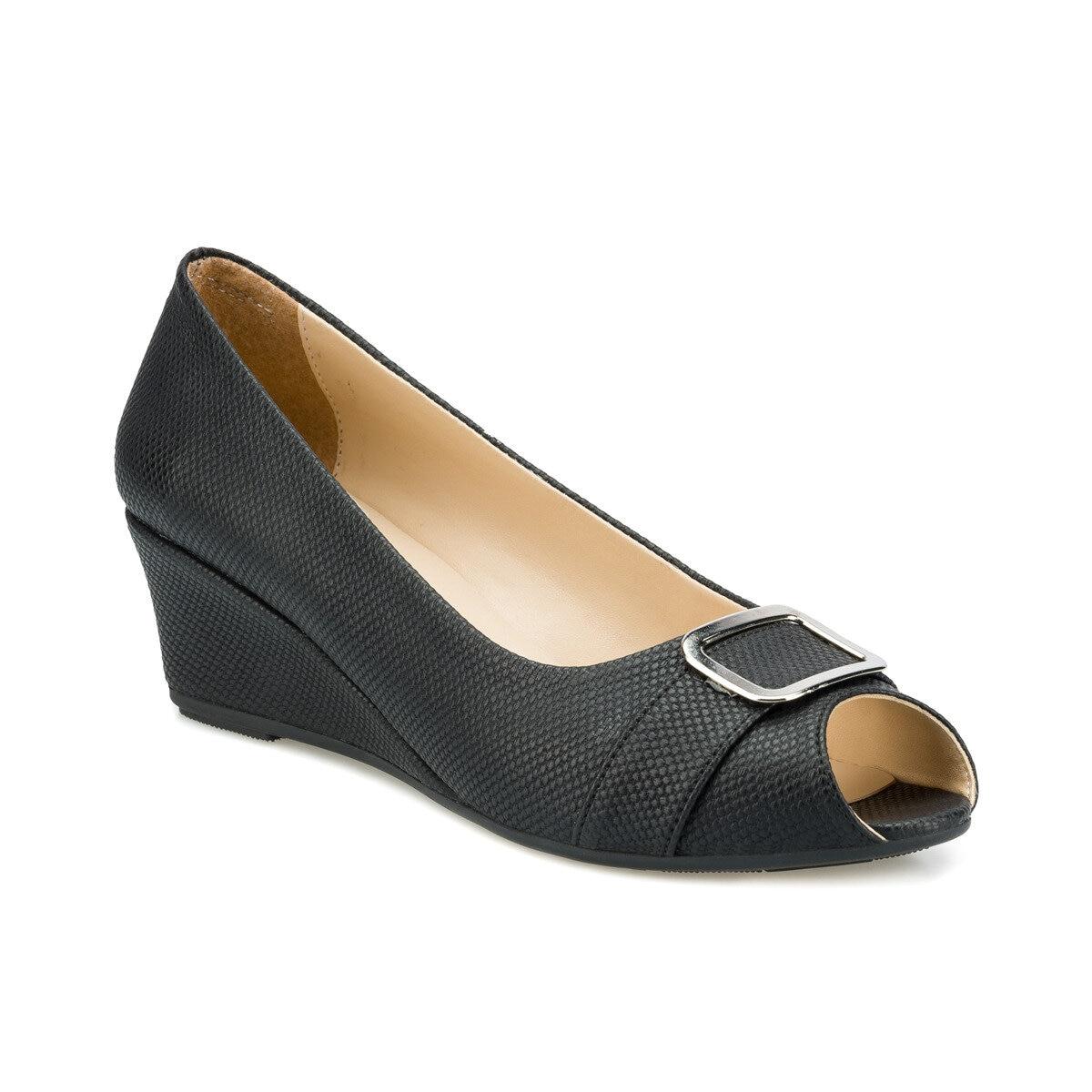 FLO 315151.Z Black Women Sandals Polaris