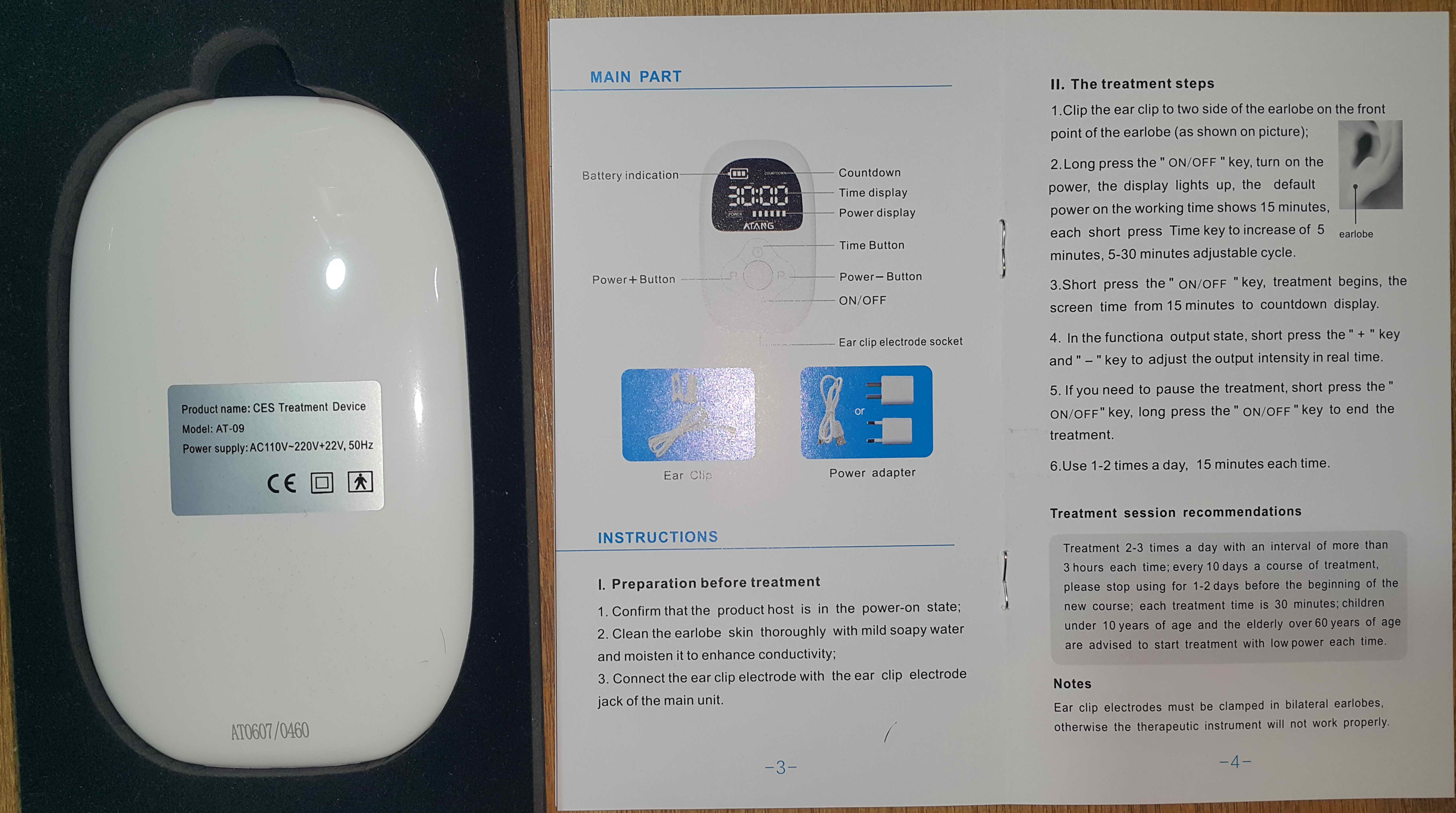 CES Sleep Therapy Device - Stress Relief Sleep Aid to cure Insomnia photo review
