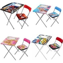 Chair-Set Children's Desk Ergonomic-Desk-Girl Cars Boy And Spiderman Desk-Snowland Drawing