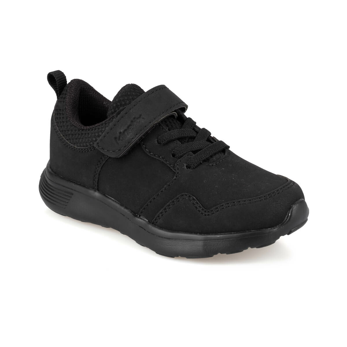 FLO HAYNES 9PR Black Male Child Shoes KINETIX