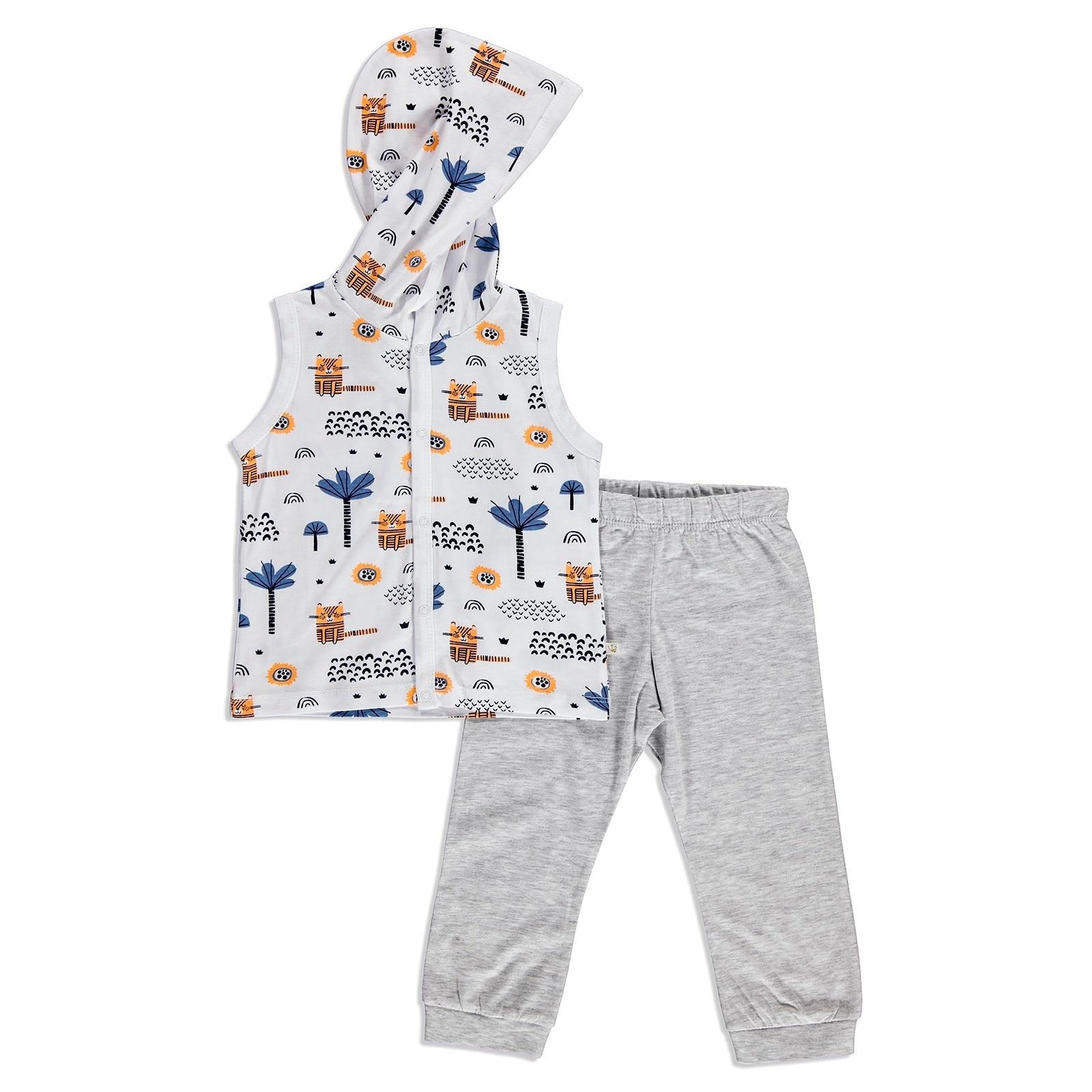 Ebebek For My Baby Summer Boy Alf Supreme Short Sleeve Vest Trouser Set