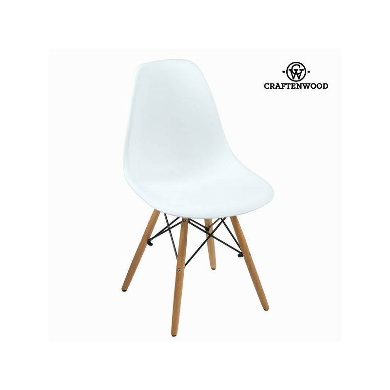 Dining Chair White ABS By Craftenwood