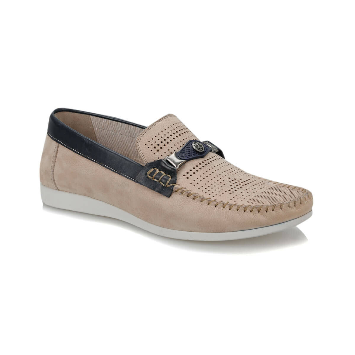 FLO MDS194 Beige Men 'S Shoes Oxide