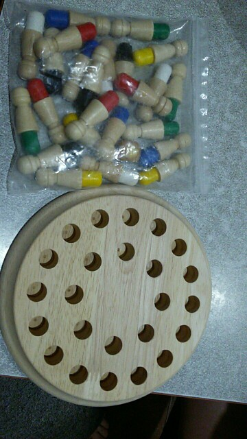 Wooden Memory Match Stick Game - homeclare photo review