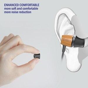 Image 5 - TENNMAK auriculares Ultra fuertes con espuma de memoria, 12 uds., almohadillas para las orejas, para boquilla de 4,5 6,0mm