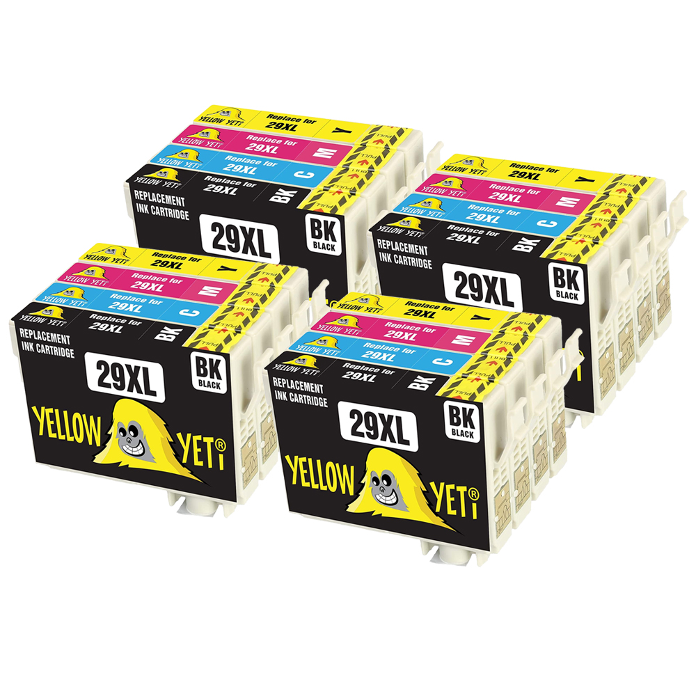 16pcs T2991 - T2994 29xl Ink Cartridge Compatible For Epson 29 For Epson XP 235 332 335 342 432 247 442 342 345 Printer