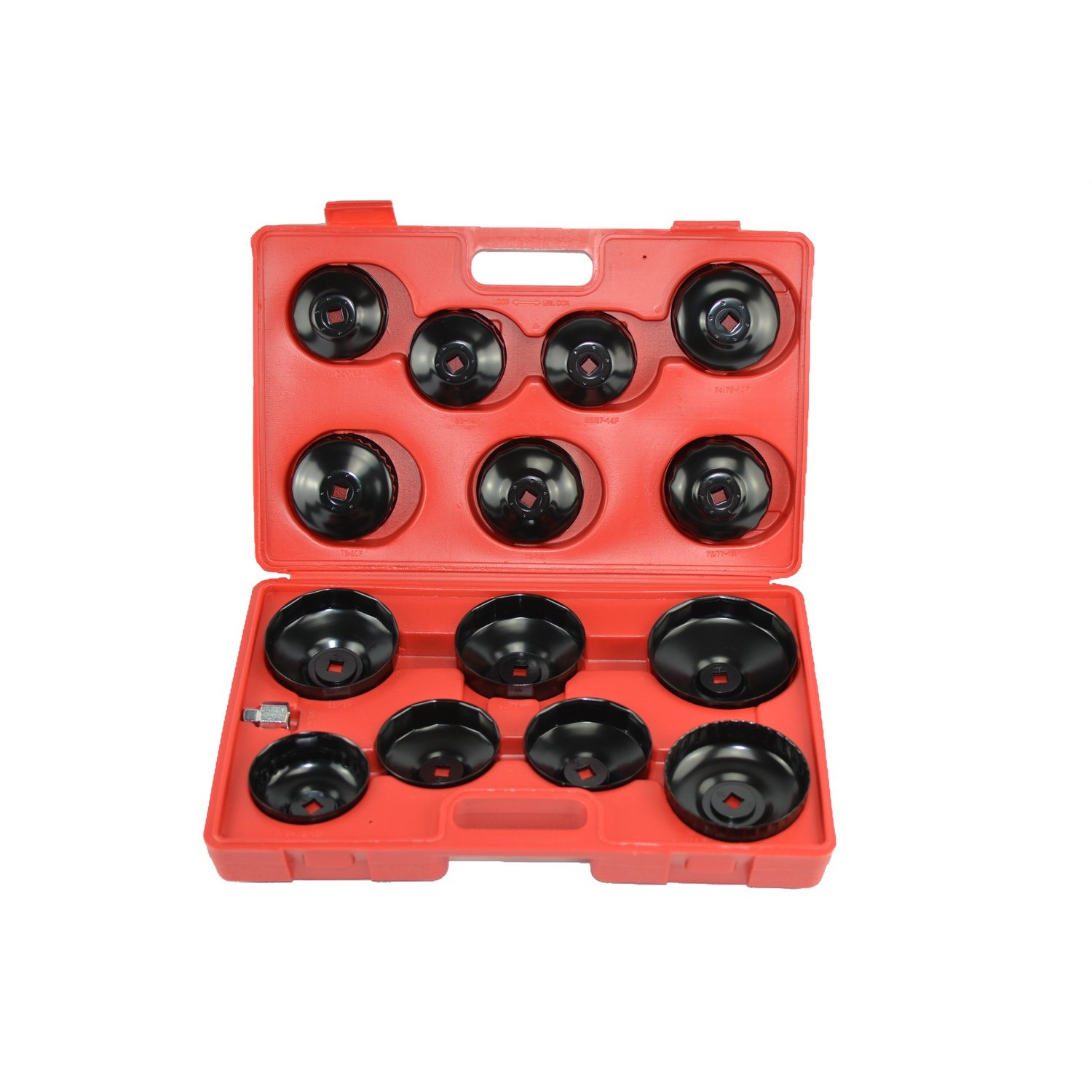 14 PC Set Of Keys Cups For Oil Filters