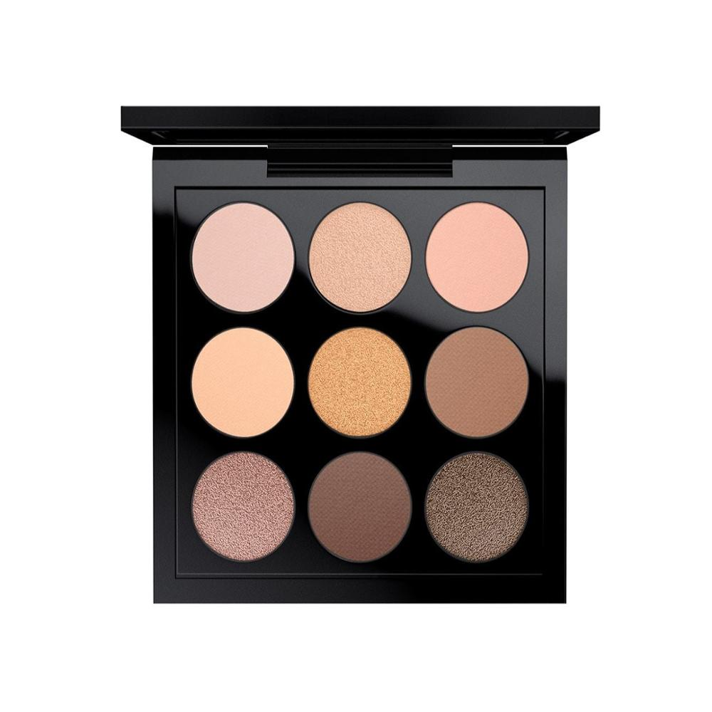 MAC Cosmetics EYE SHADOW X 9: AMBER TIMES NINE Color Pastel Colors Eye Makeup Eye Shadow