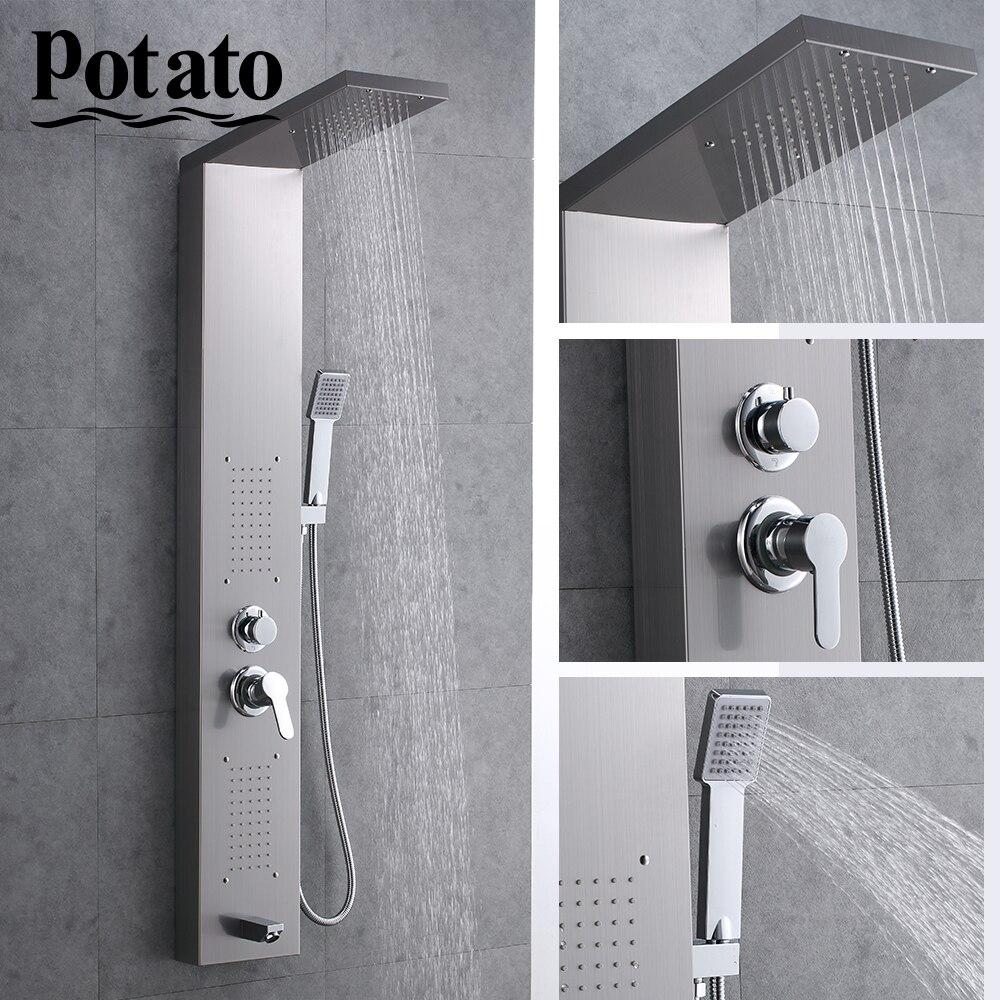Potato Shower Faucet Waterfall Rain ...