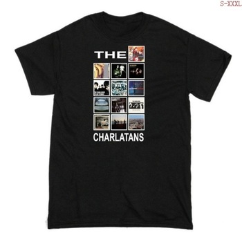 Hot Sale Mens the Charlatans Short Sleeve Crew Ne Tshirts Casual T-shirt Cotton Sleeves T Shirt Fashion Tops Clothi
