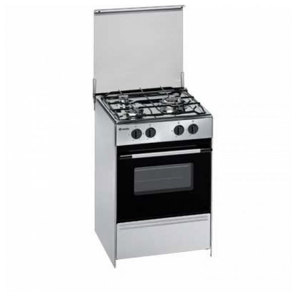 Gas Hob Meireles G1530 DV 60 cm 53 L Stainless steel (3 Stoves) Cooktops     - title=