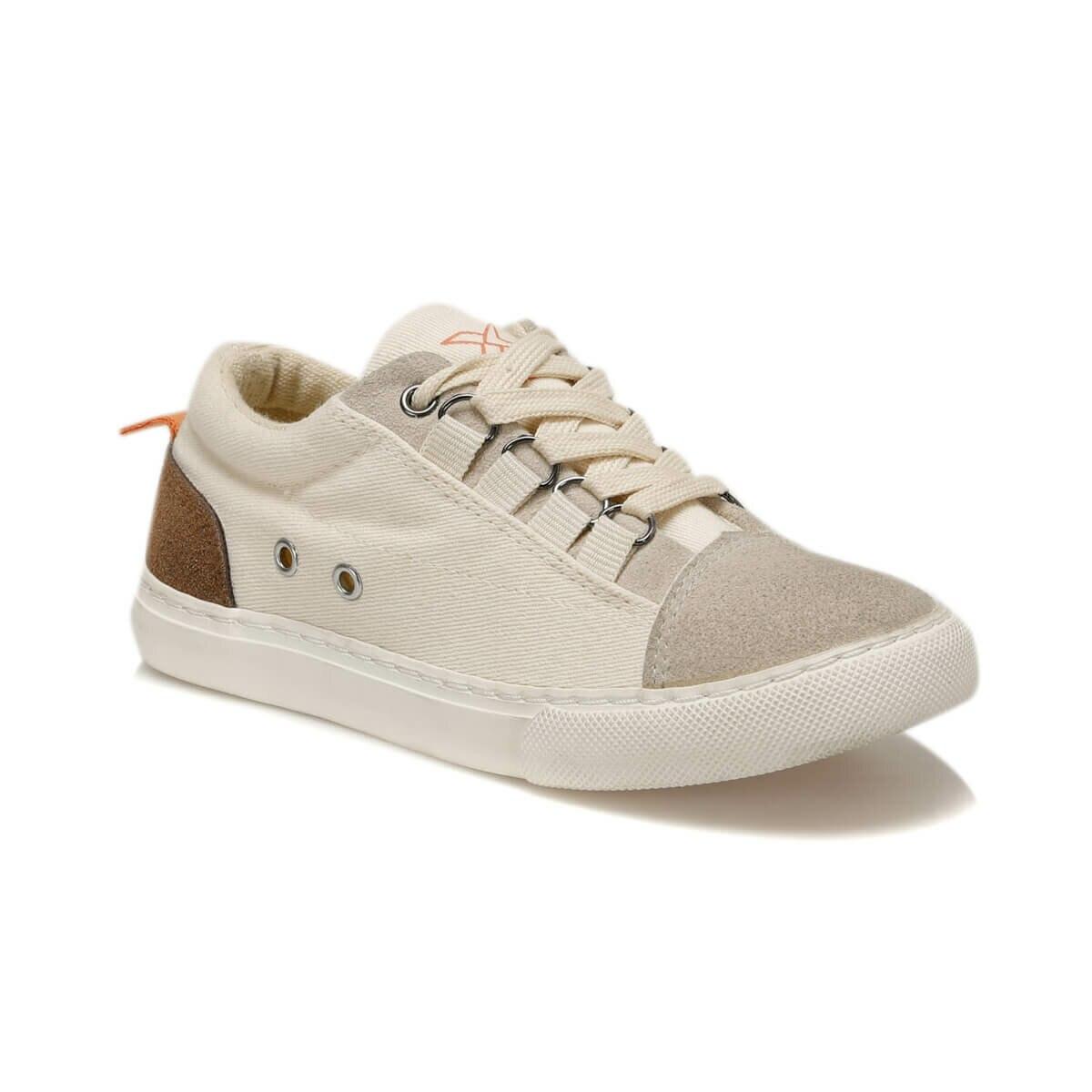 FLO VARUNA Beige Male Child Sneaker Shoes KINETIX