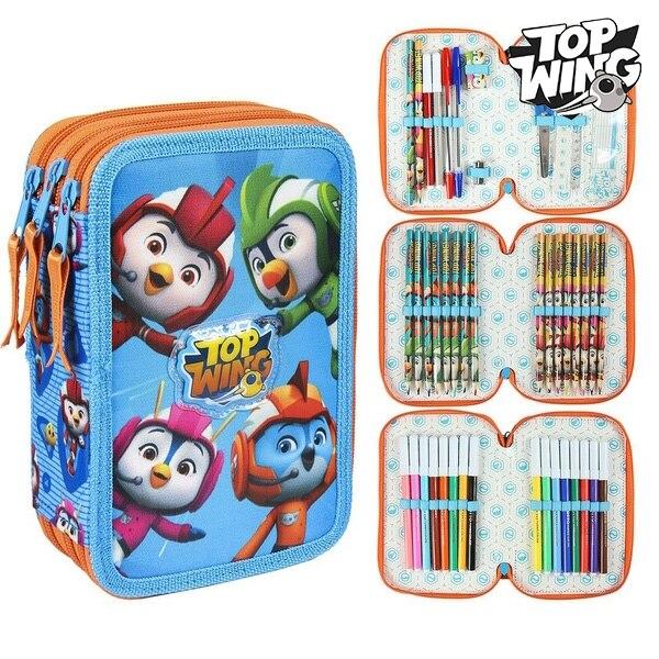 Triple Pencil Case Top Wing 78629