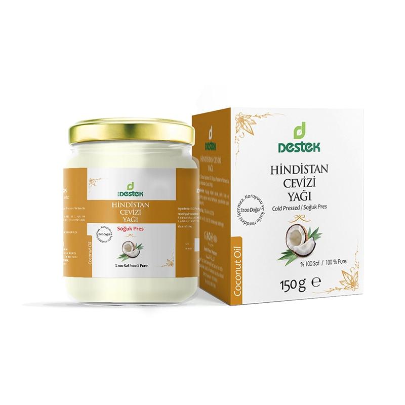 100% Pure Organic Coconut Oil 150 Ml