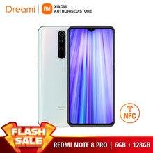 Versión Global Xiaomi Redmi Note 8 PRO 128GB ROM 6GB de RAM note8pro Smartphone teléfono móvil