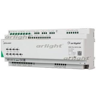 025664 Intelligent Arlight Relay Module Knx-724-sw10-din (bus, 24 X 10A) Arlight 1-piece