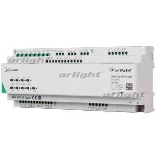 025664 Intelligent Arlight Relay Module Knx-724-sw10-din (bus, 24 X 10A) Arlight Box 1-piece