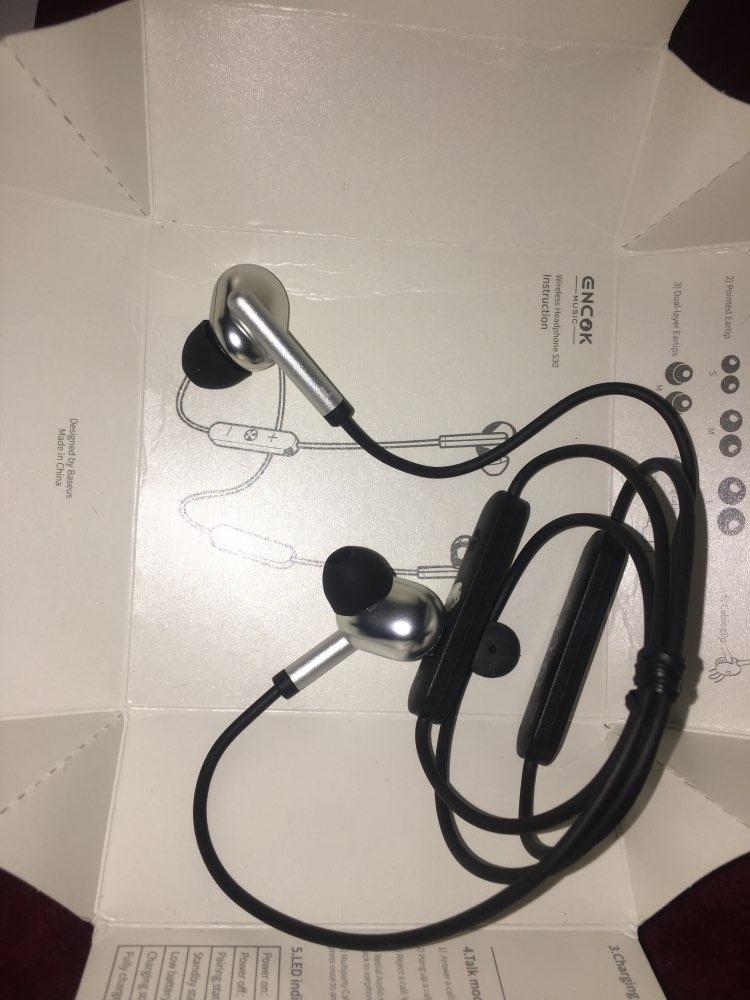 Baseus S30 Bluetooth Earphone Wireless Lightweight Sport earphones IPX5 Waterproof 3D Stereo Bass Earphone with HD Mic for Phone|Phone Earphones & Headphones| |  - AliExpress