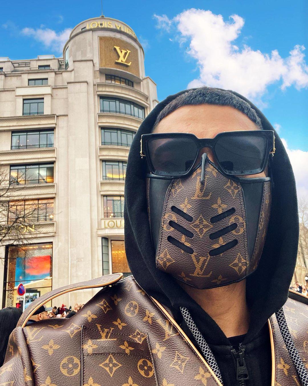 LV Mask 2020 Luxury Monogram Mask 2020 Monogram Mask 2020